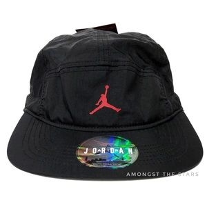 Nike Jordan Jumpman Crinkled 5 Panel Drawcord Hat